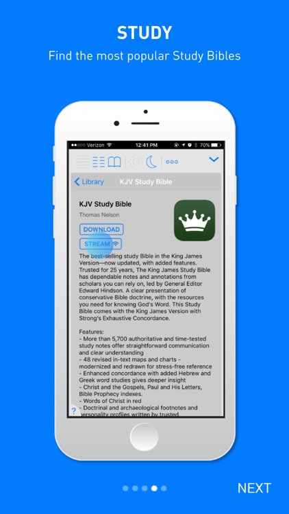 Holy Bible King James + Audio by Bible App Labs LLC
