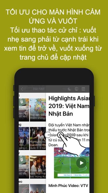 BÁO ONLINE  FULL - Tin Vietnam screenshot-4