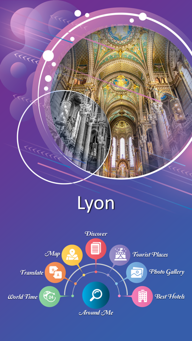 Lyon Tourist Guide screenshot 2