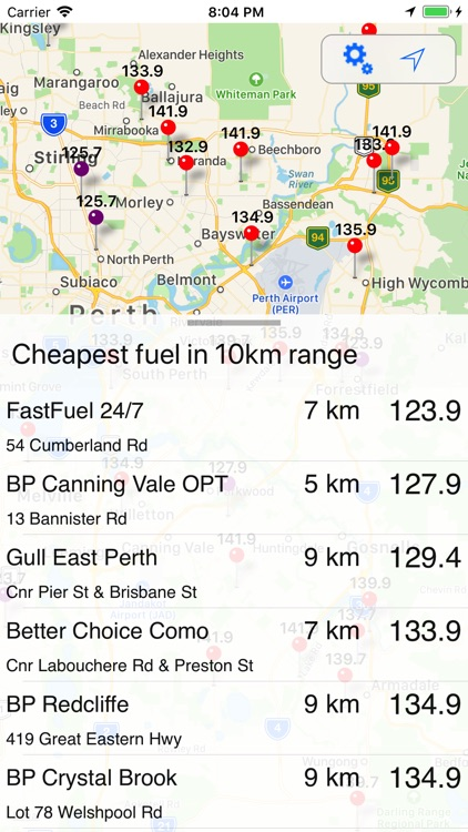 Cheap Fuel WA+
