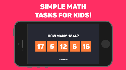 Basic math for kids: numbers Screenshot