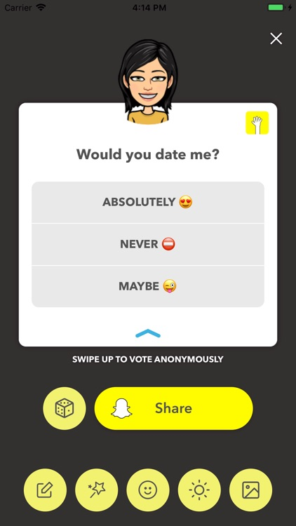 LMK: Anonymous Polls screenshot-8