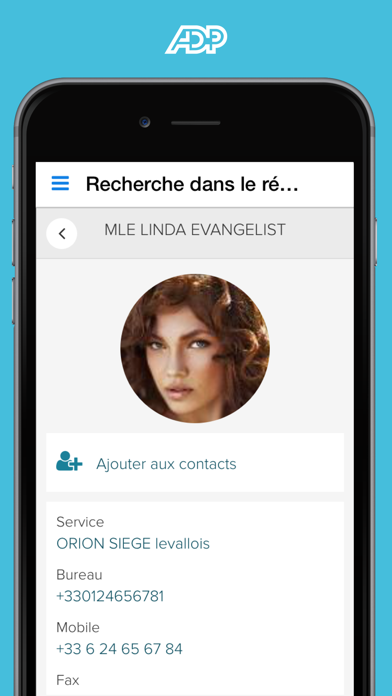 Screenshot #3 pour ADP Mobile Solutions