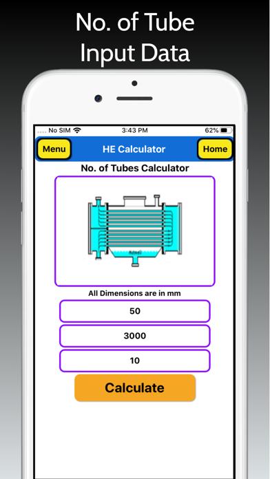 Heat Exchanger Area Pro screenshot 7