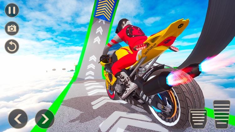 Mega Ramp Bike Stunts Games 20 screenshot-3