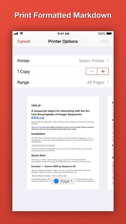 Blockquote Markdown Editor screenshot-6