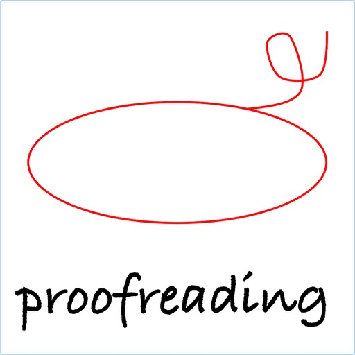 proofreading stickers icon