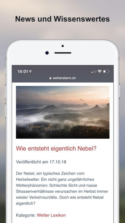Wetter-Alarm: Wetter Schweiz screenshot-7