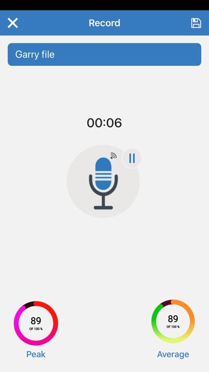 Audio Recording 2019