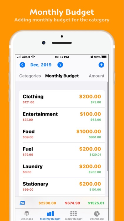 Personal Budget-Pro