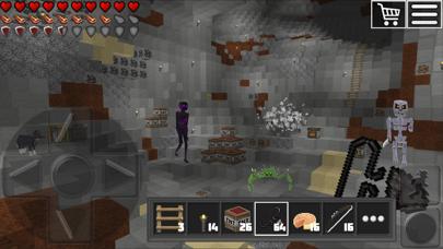 World of Cubes Survival Craft Screenshot on iOS