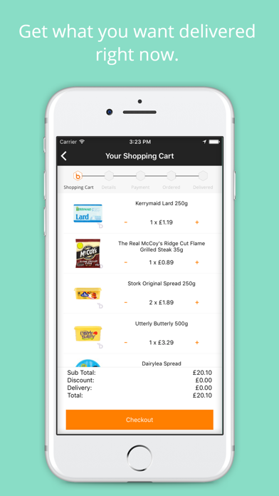 Beelivery: Grocery Delivery screenshot four