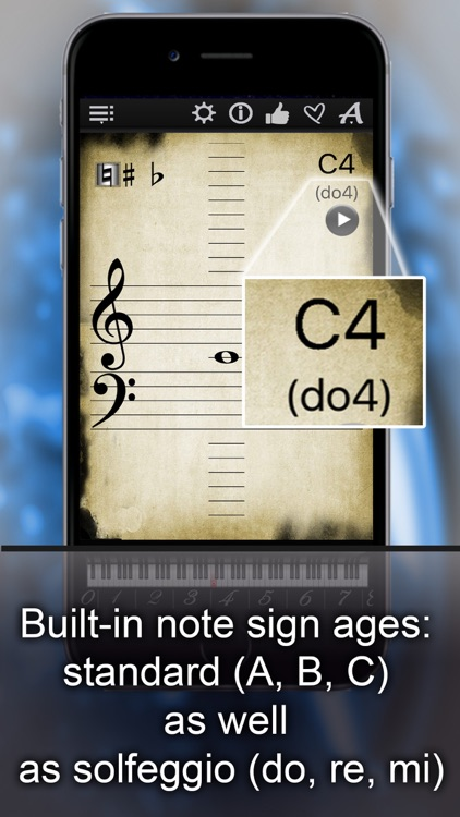 Piano Notes Finder LR
