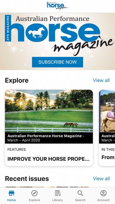 Australian Performance HorseScreenshot of 1