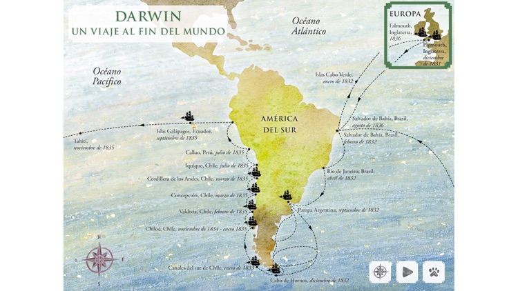 El viaje de Darwin screenshot-4