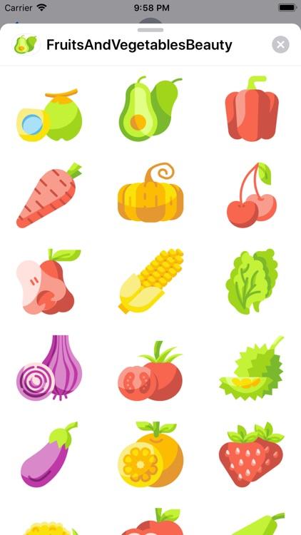 FruitsAndVegetablesBeauty