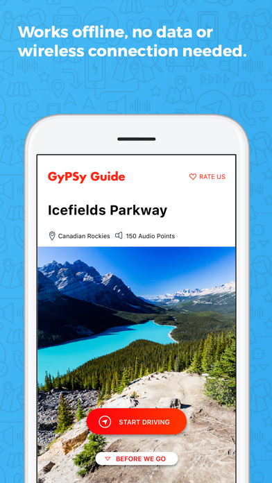 Icefields Parkway GyPSy Guide Screenshot