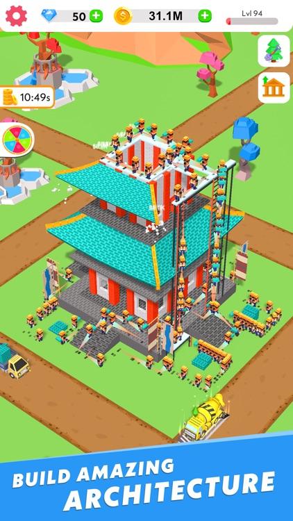 Idle Construction 3D screenshot-3