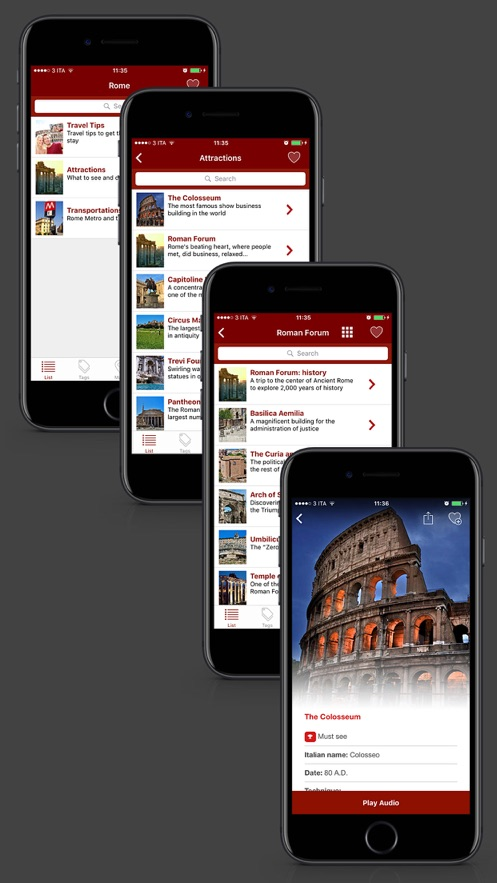 ItalyGuides: Rome Travel Guide App 截图