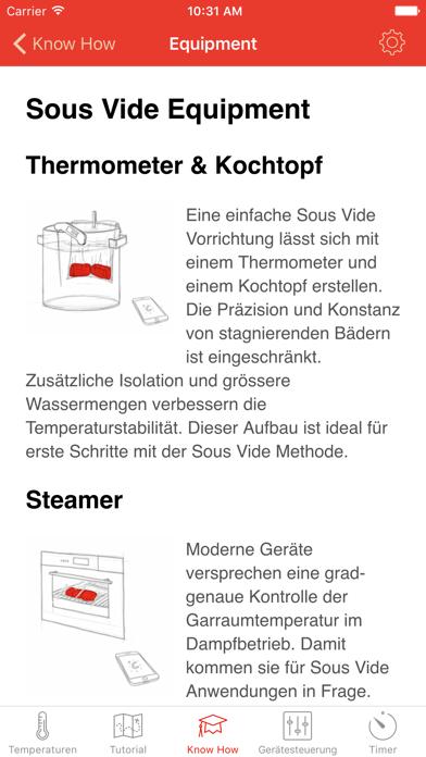 Screenshot for Sous Vide °Celsius in Austria App Store