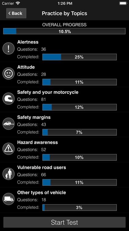 Motorcycle Theory Test UK Pro screenshot-6