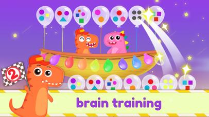 Dinosaur Kids Logic Math Game2 screenshot 1