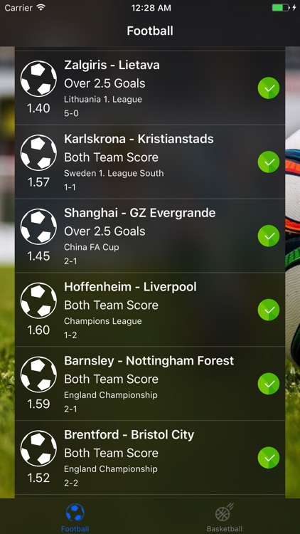 VIP Betting Tips Football Tips screenshot-0
