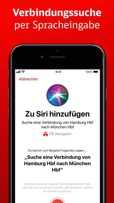 Screenshot for DB Navigator in Germany App Store