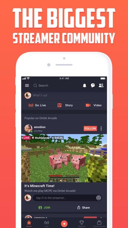 Omlet Arcade: Livestream Games screenshot-0