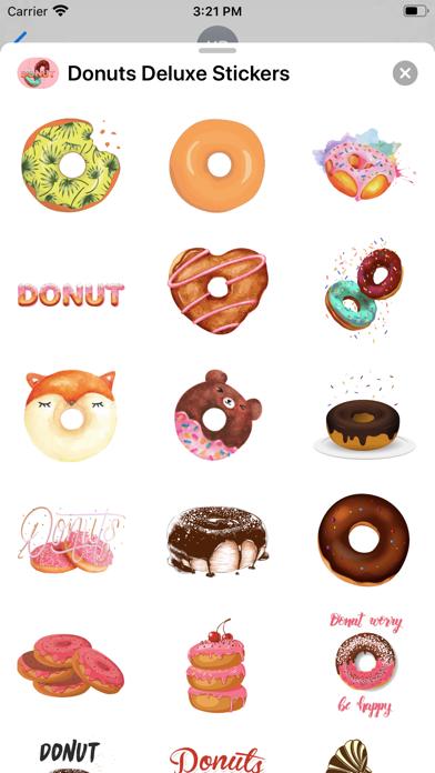 Donuts Deluxe Stickers screenshot 2