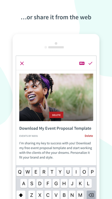 Screen Shot Curate: Simple Email Marketing 4