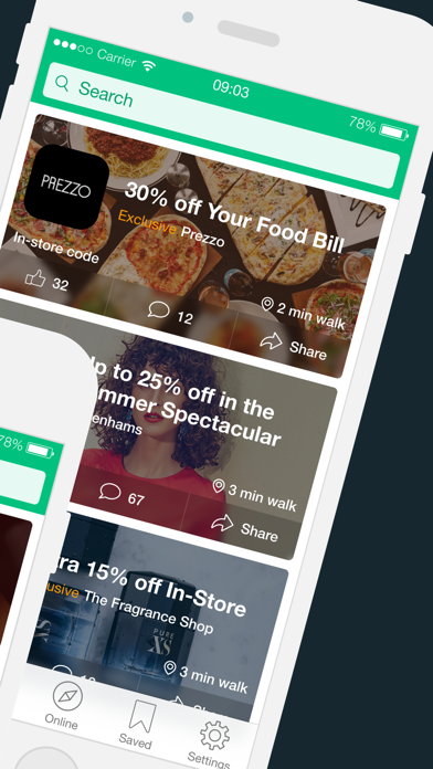 VoucherCodes: Discounts, Deals screenshot two