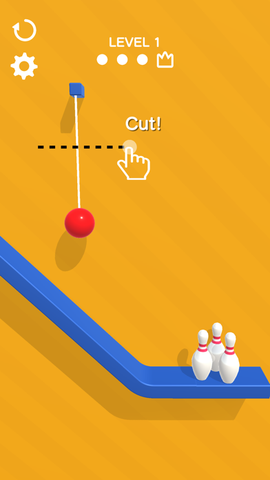 Rope Bowling screenshot 1