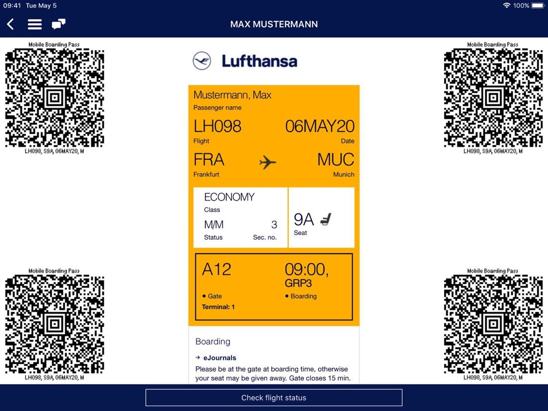 App Lufthansa