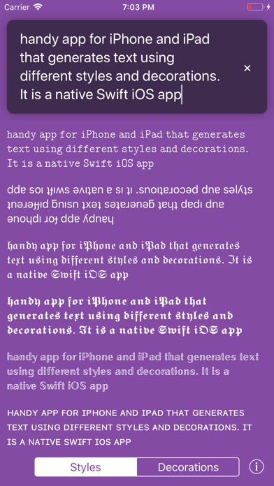 Screenshot for KoalaFonts - Personality Style in United States App Store