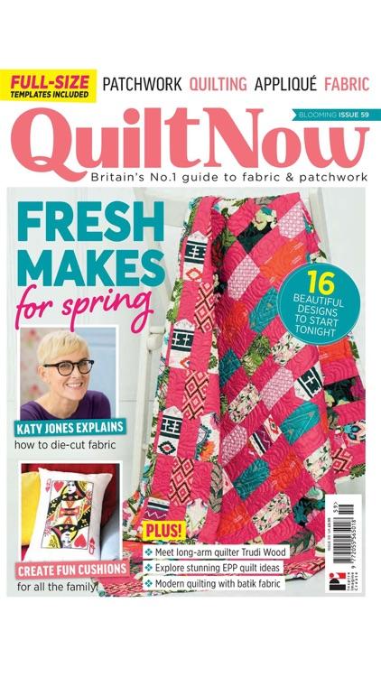 Quilt Now Magazine screenshot-3