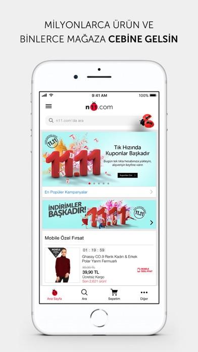 n11.com - Alışverişin Adresi ekran görüntüsü
