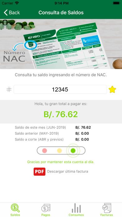 ENSA Panamá screenshot 3