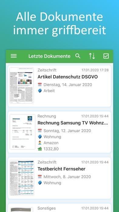 Docutain: PDF Scanner, OCR, QRScreenshot von 4