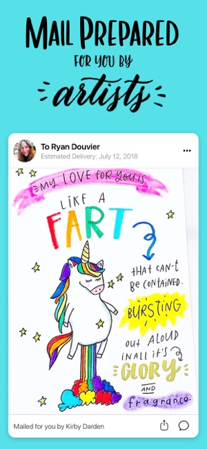 Punkpost Greeting Cards on the App Store