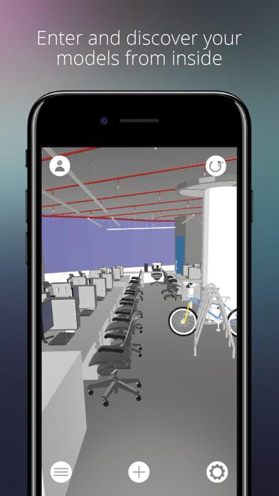 BIMserver.center AR screenshot 4