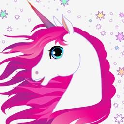 Pink Unicorn Stickers