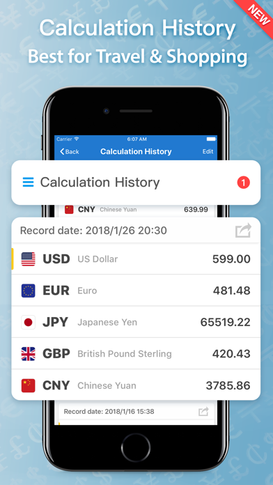 iMoney · 外貨為替換算 ScreenShot3