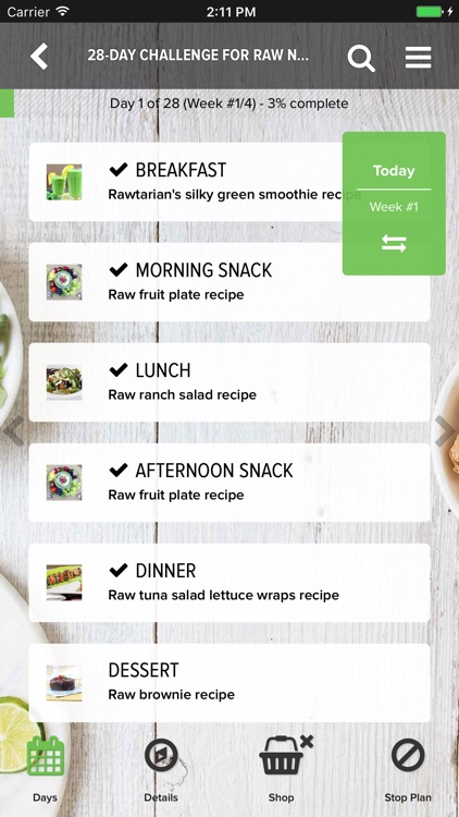 Rawtarian's Raw Meal Plans screenshot-5