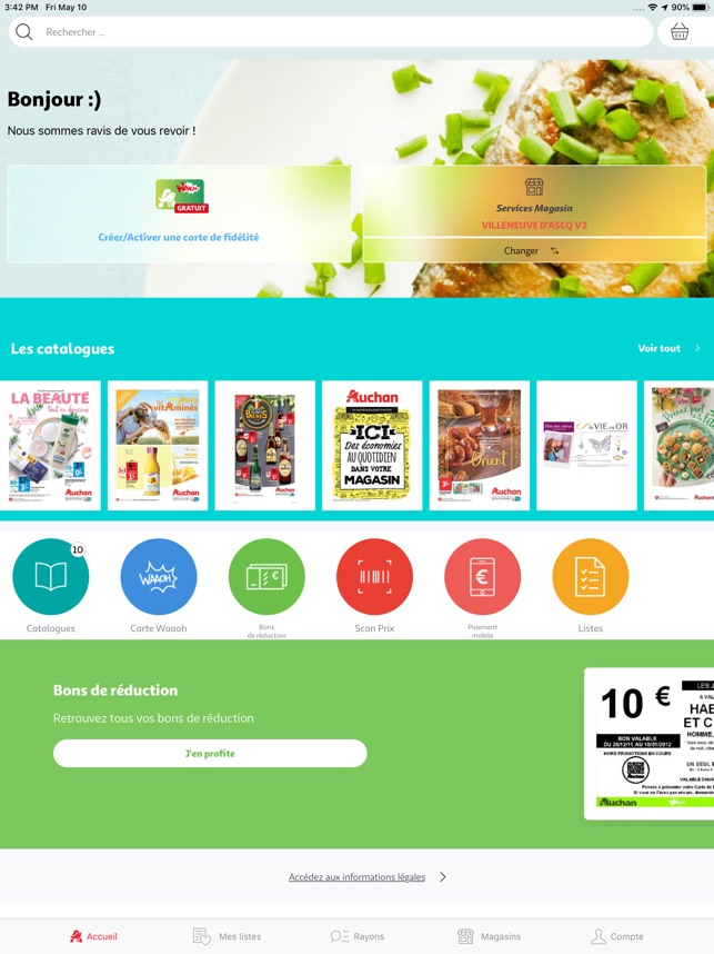 Auchan France on the App Store