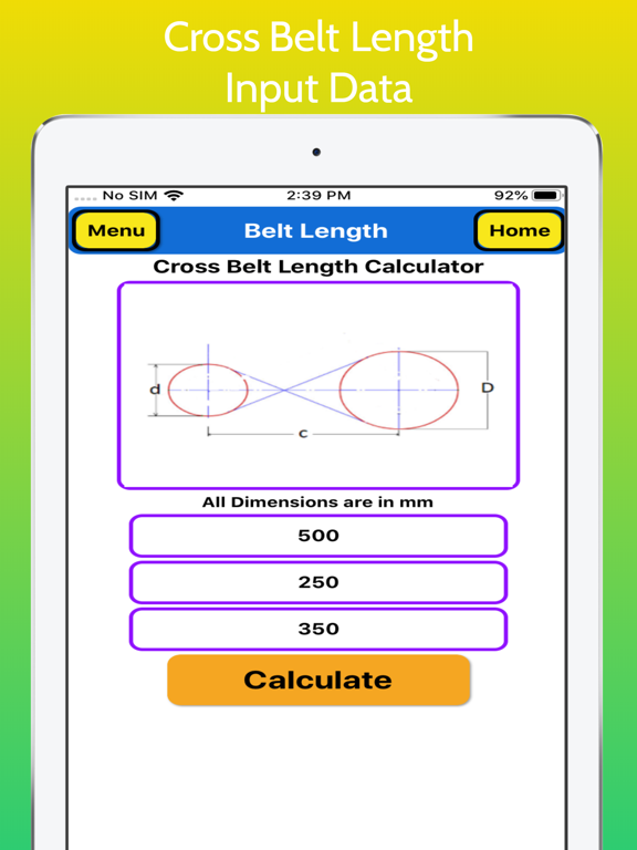 Belt Length Calculator screenshot 14