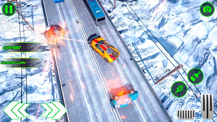 Highway Traffic Car Shooter screenshot-6
