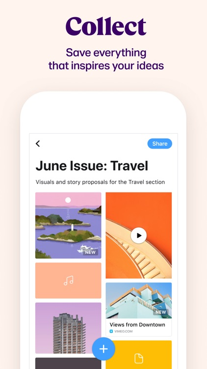 Collect: Save and share ideas screenshot-0