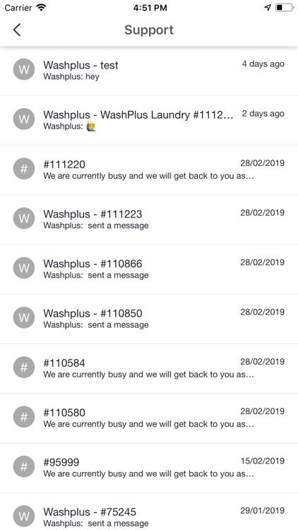 Washplus Laundry Customer screenshot-7