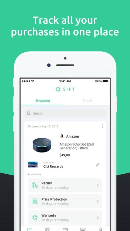 SIFT - Cash Back Automatically screenshot-0